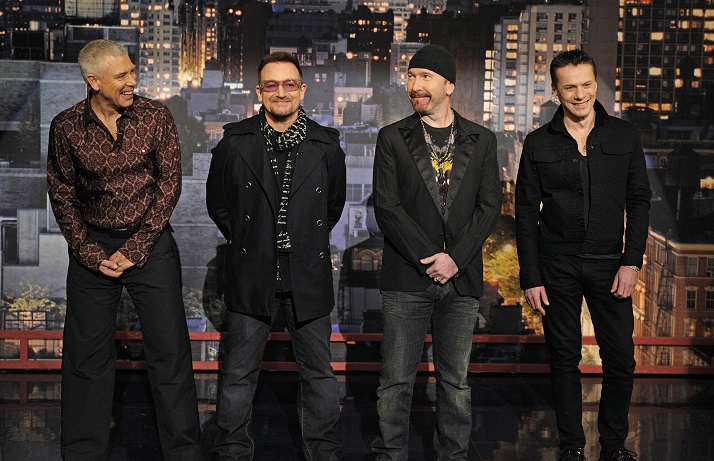 Adam Clayton, Bono, The Edge, Larry Mullen Jr.