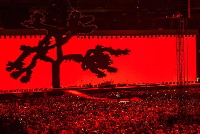 The Joshua Tree Tour Stage